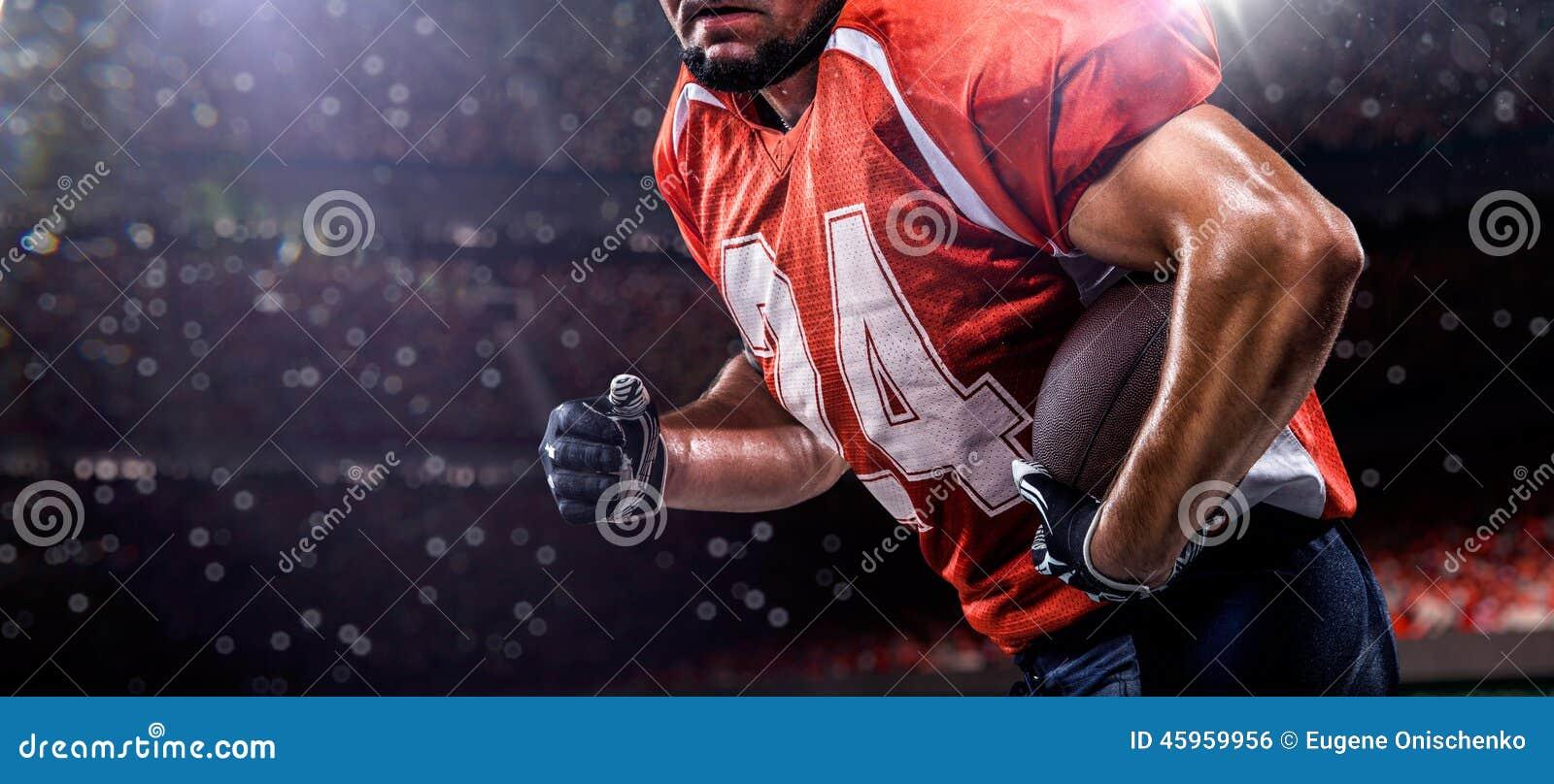 Giocatore di football americano di Americam