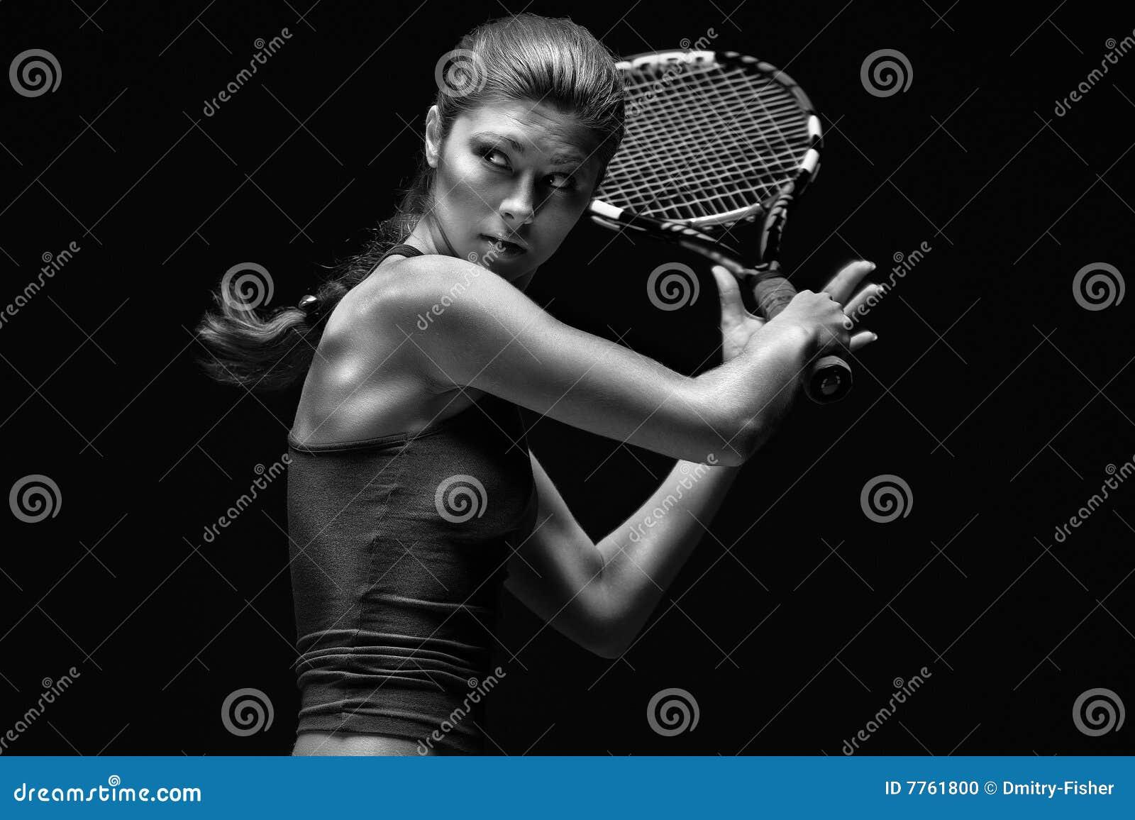 Giocatore di tennis femminile