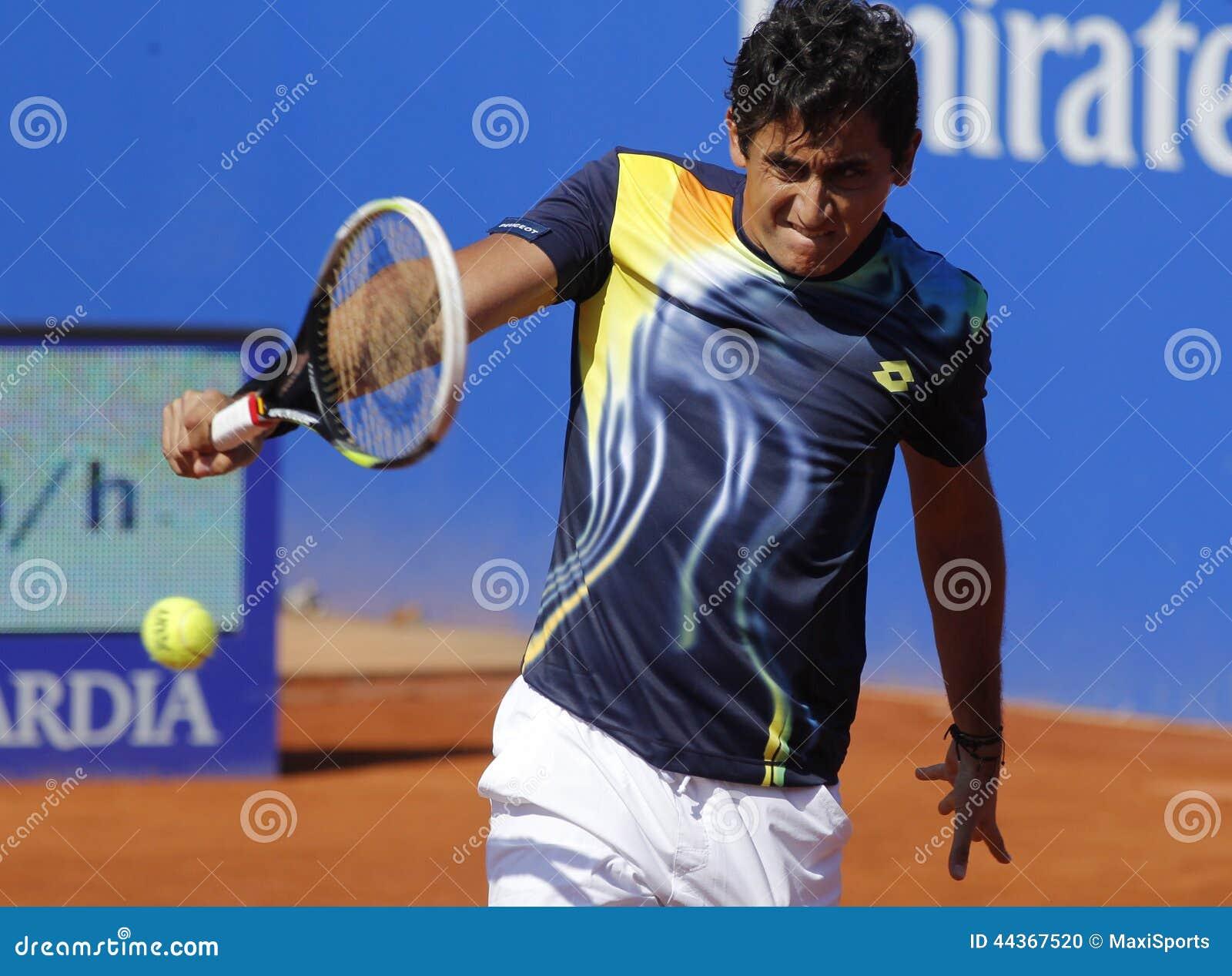 Giocatore di tennis spagnolo Nicolas Almagro