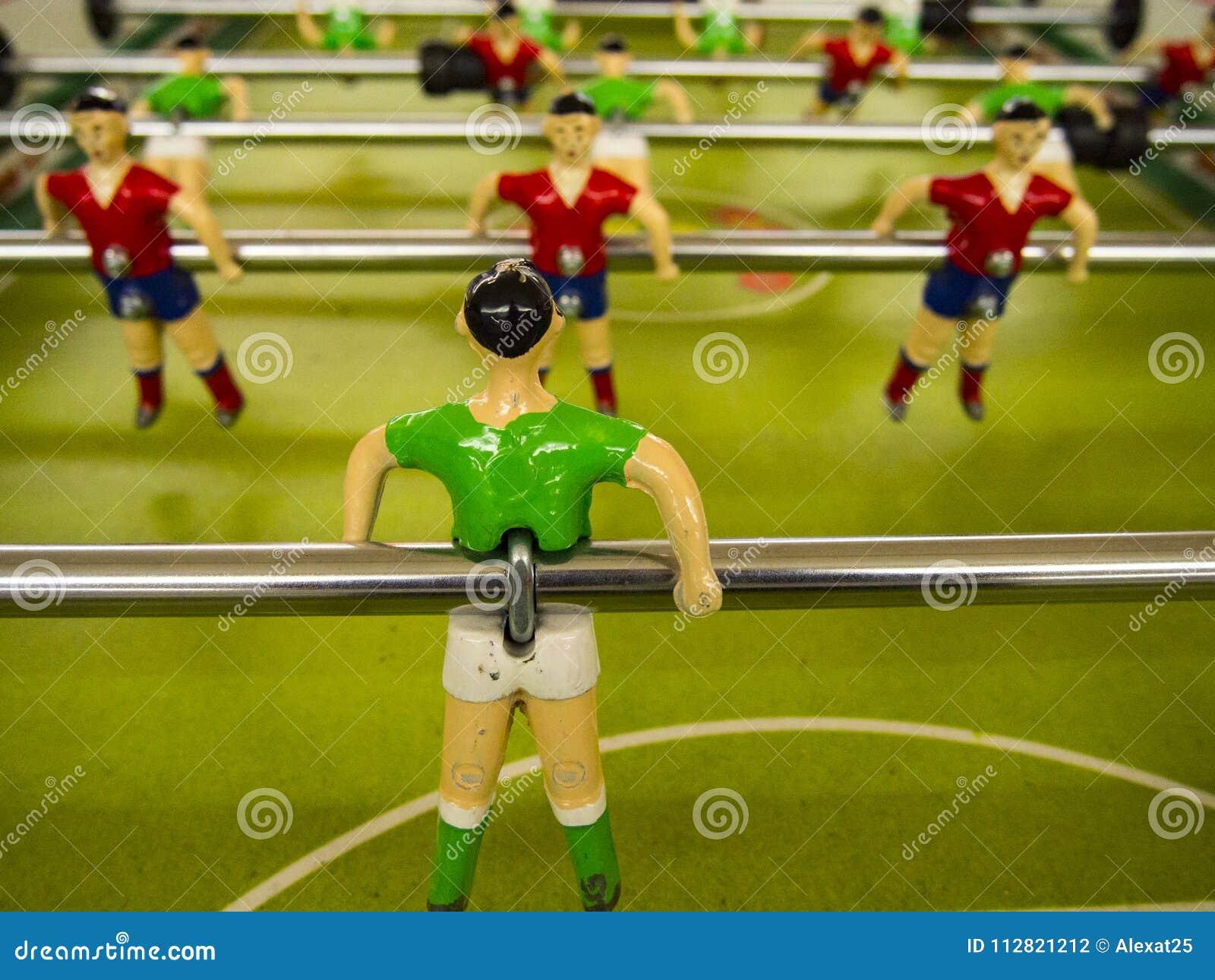 Giocatori del calcio-balilla