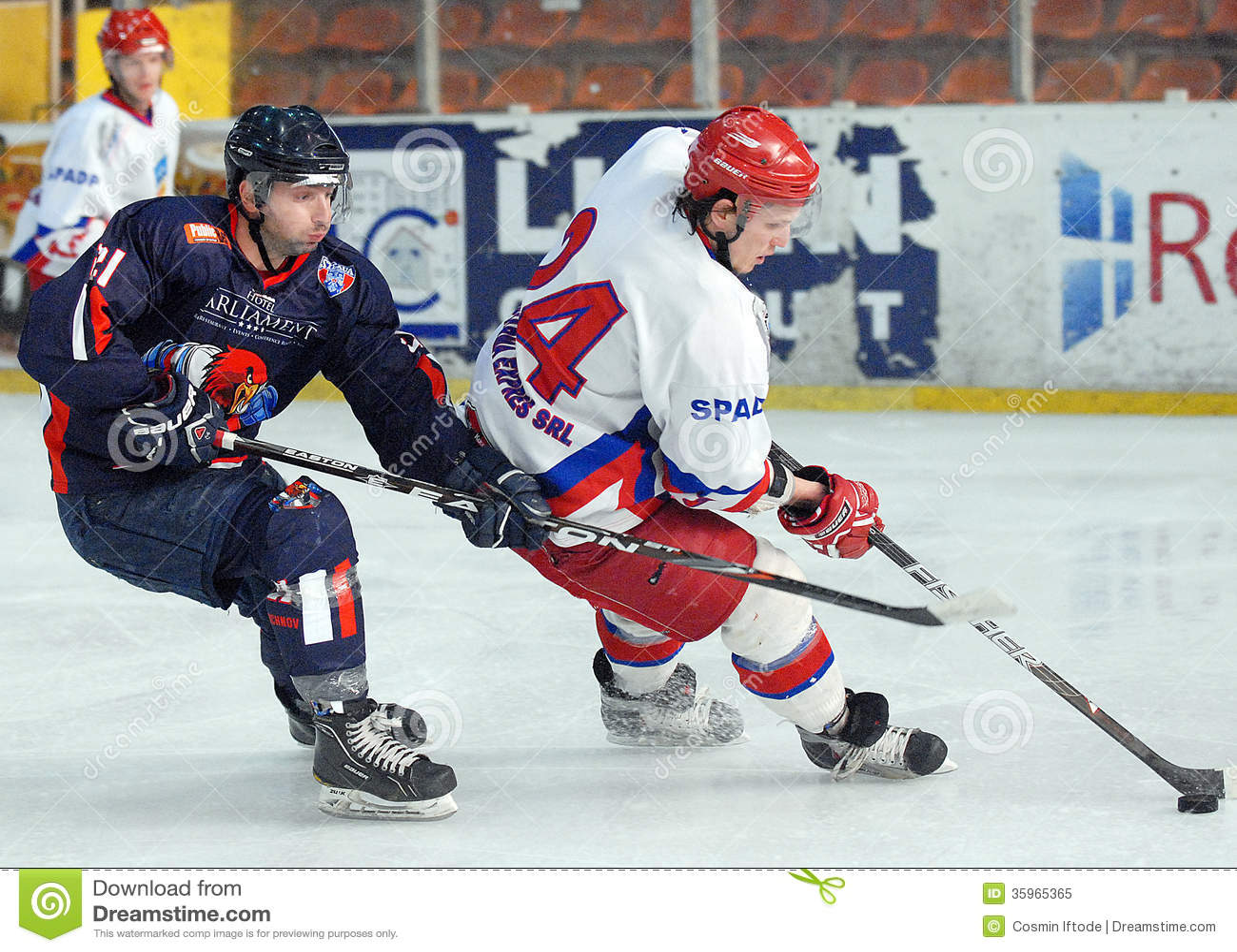 Giocatori di hockey su ghiaccio