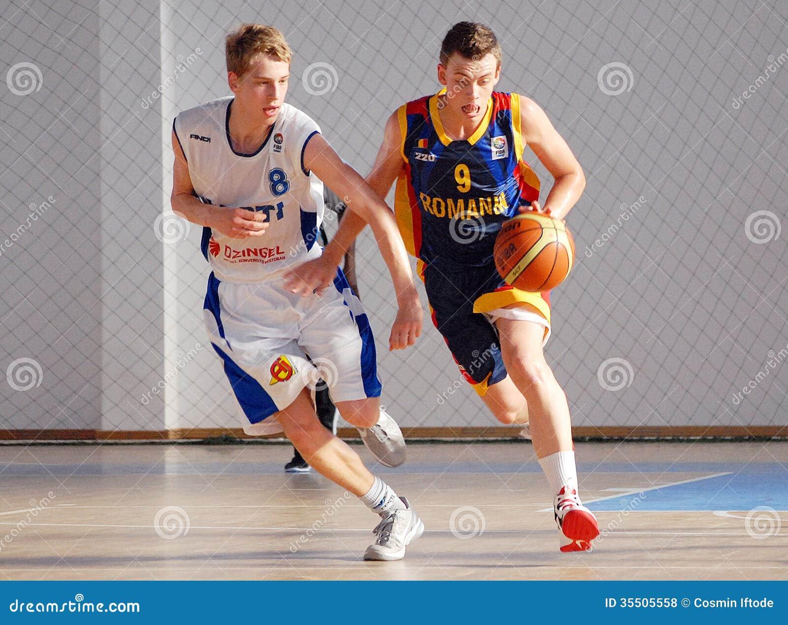 Giocatori di pallacanestro nell 39 azione fotografia stock - Immagini stampabili di pallacanestro ...