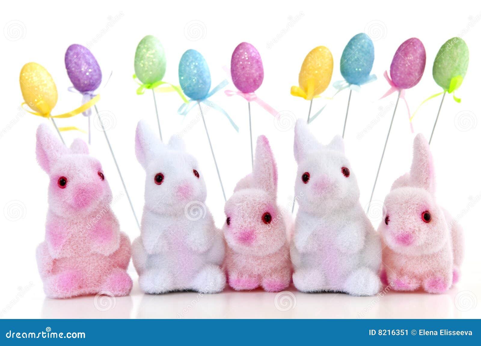 Giocattoli del coniglietto di pasqua immagine stock - Lettere stampabili del coniglietto di pasqua ...
