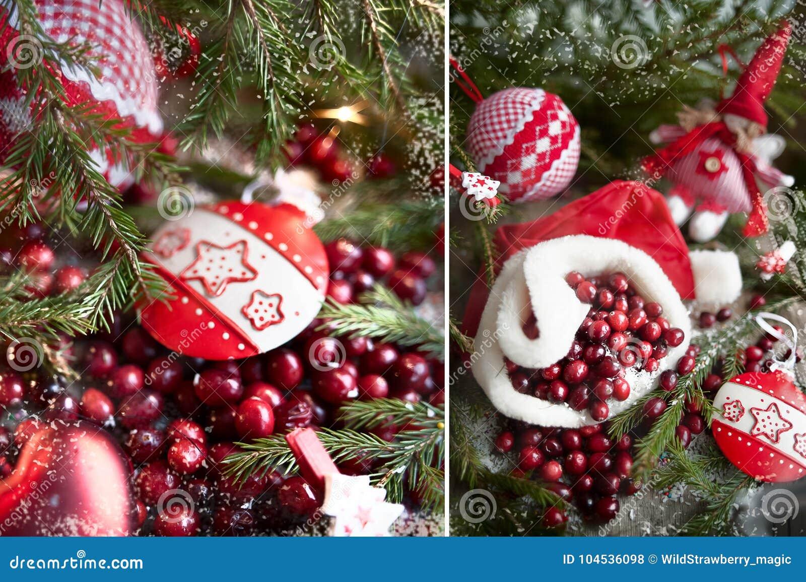 Giocattoli del nuovo anno, mirtilli rossi