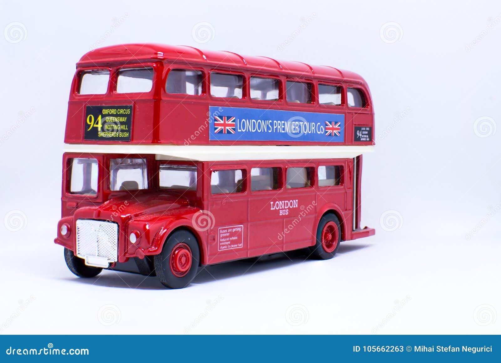 Giocattolo della carrozza di Londra