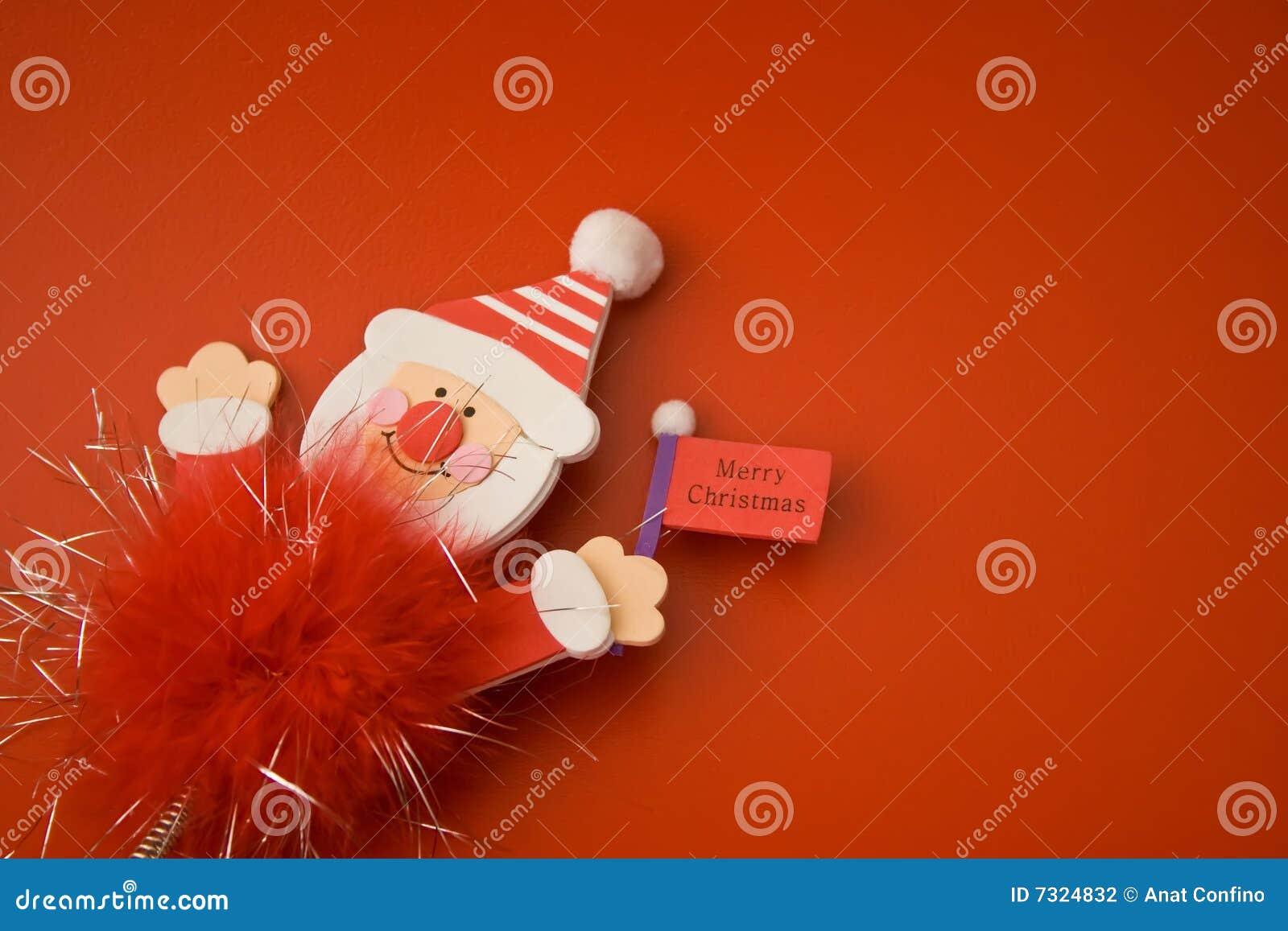 Giocattolo rosso 18 di Buon Natale