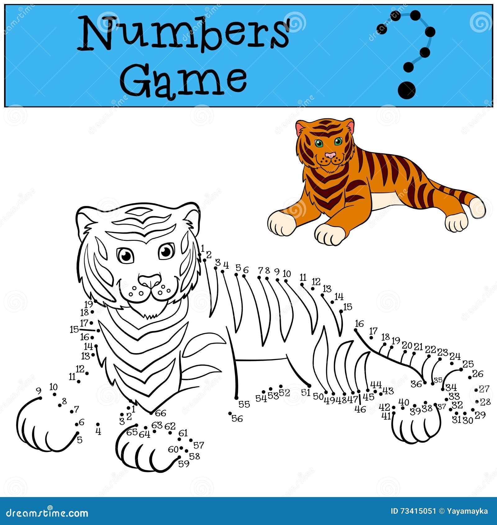 Giochi educativi per i bambini gioco di numeri sorrisi - Colore per numeri per i bambini ...