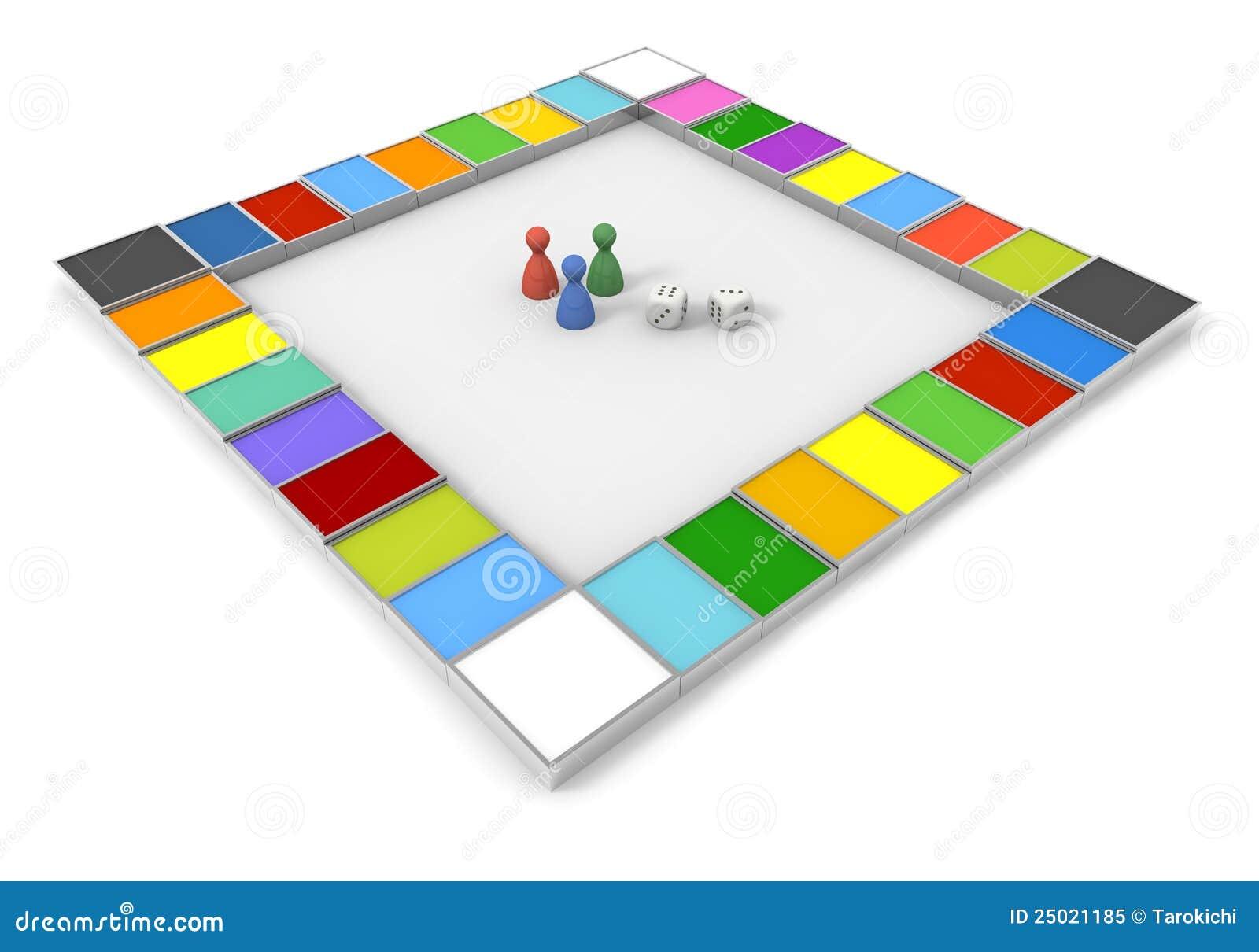 Gioco da tavolo dadi illustrazione di stock illustrazione di vincitore 25021185 - Gioco da tavolo caduta libera ...
