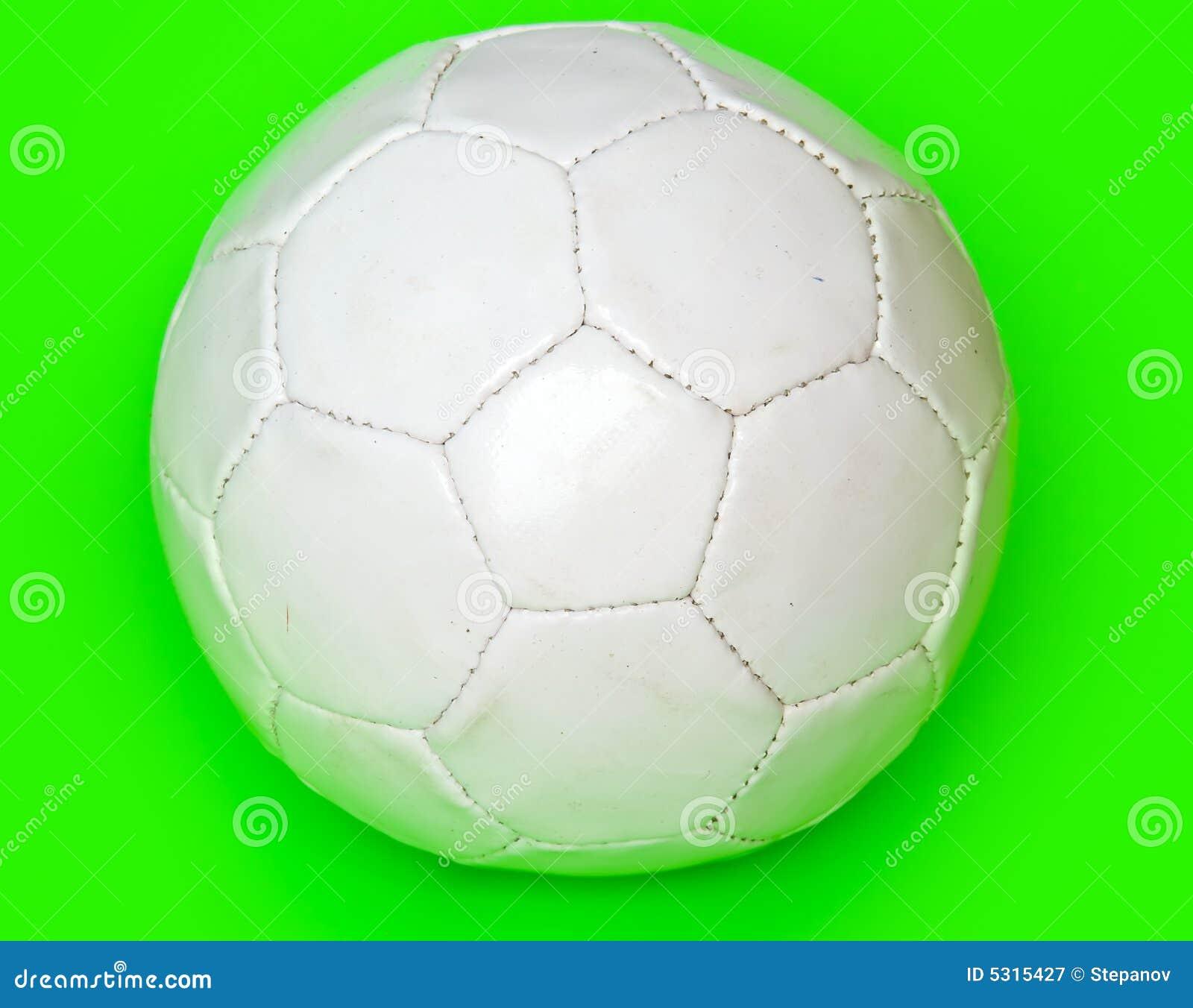 Download Gioco del calcio bianco immagine stock. Immagine di concorrenza - 5315427