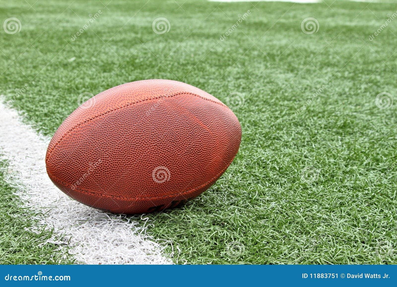 Gioco del calcio sul linea delle yard