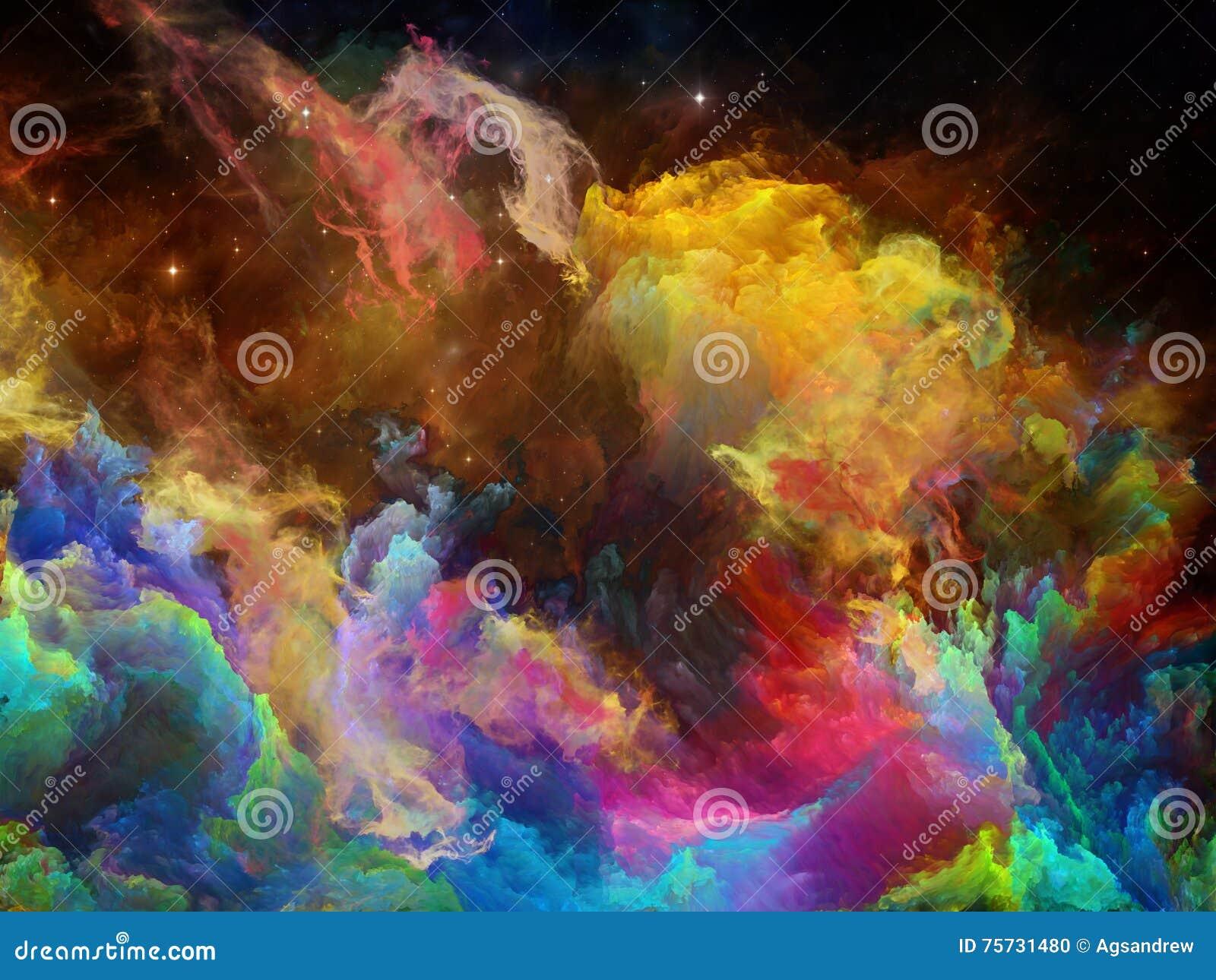Gioco della nebulosa dello spazio