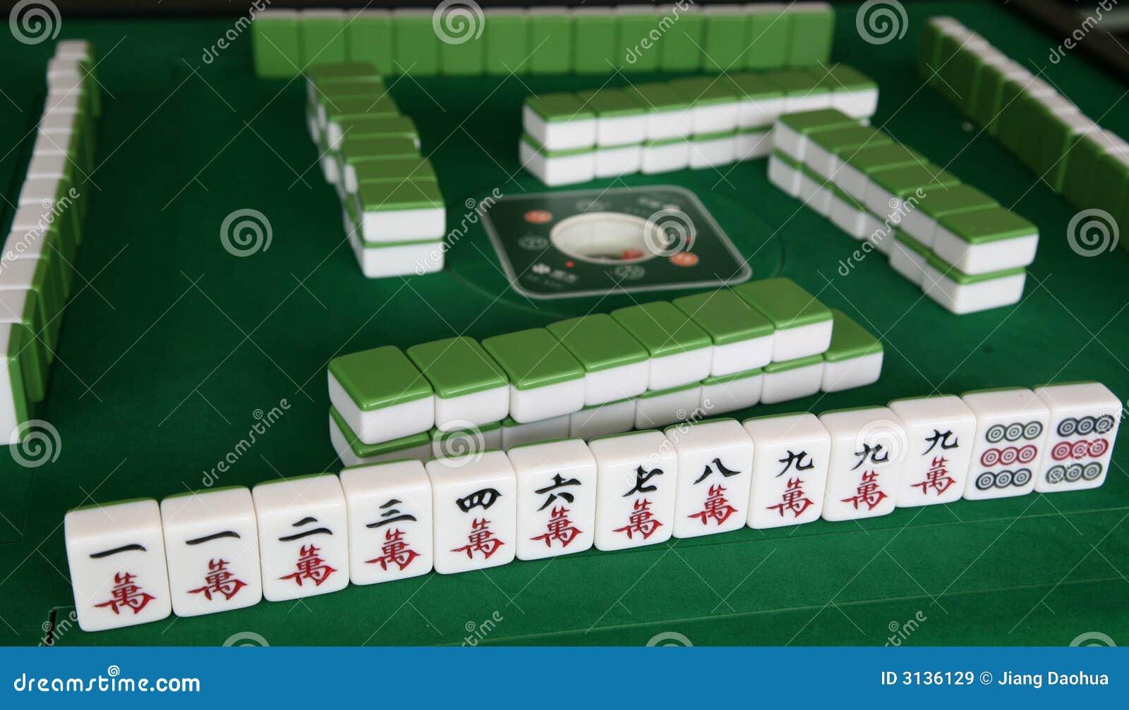 Gioco di Mahjong