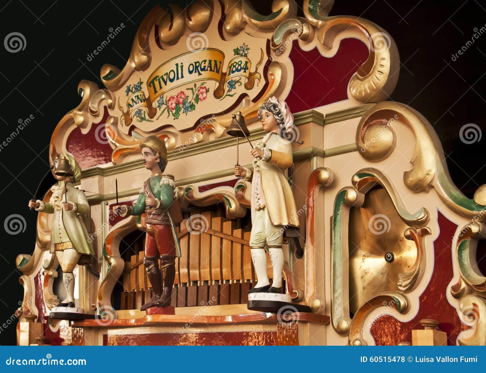 Gioco tedesco antico dell orchestrion