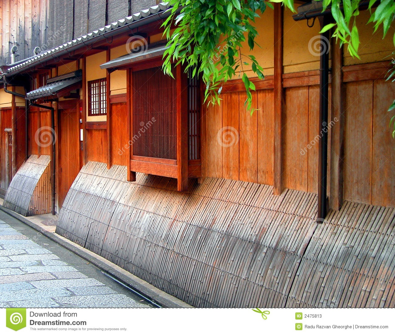 Gion wooden house