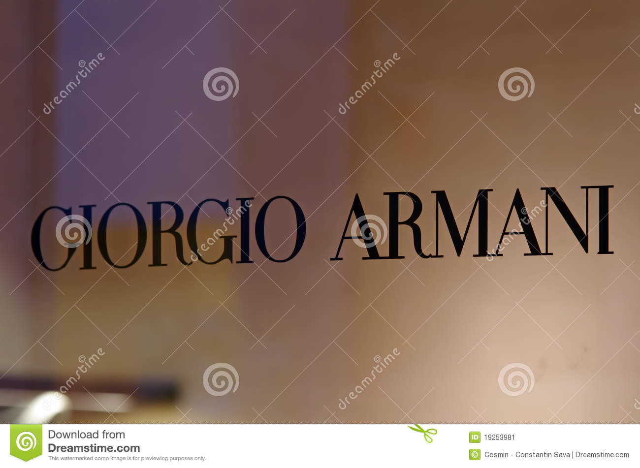 marketing plan for brand of giorgio armani Luxury brands are conceptually different and require a specific approach to   core of their marketing strategy2 and, in luxury brand management, experiences  are  for example, giorgio armani created a homogeneous and.