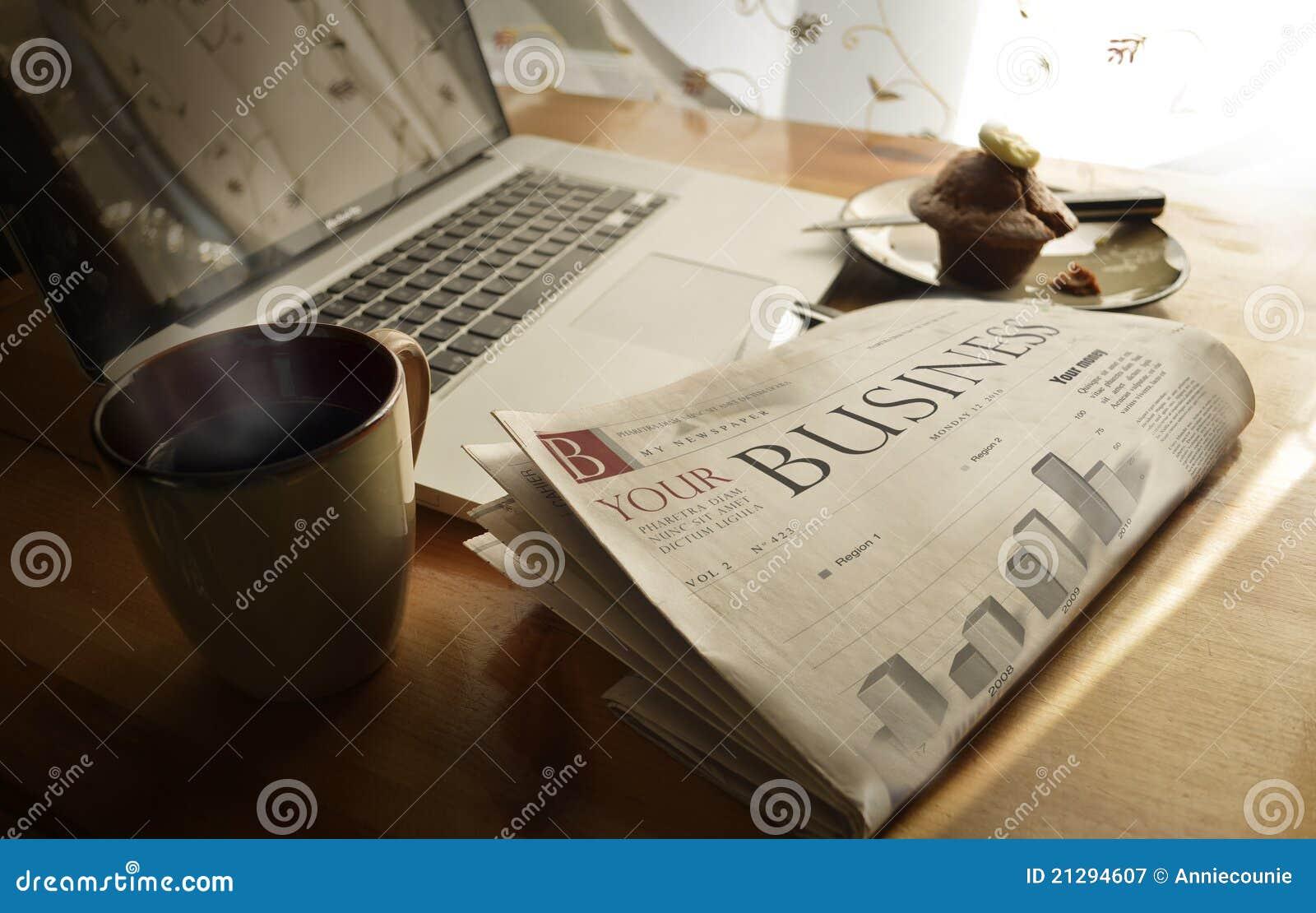 Giornale quotidiano di affari