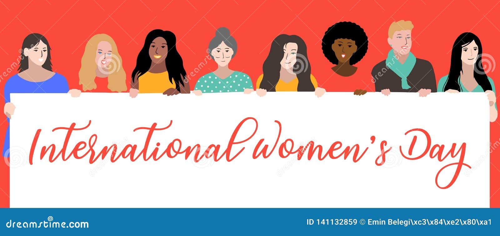 Giornata internazionale della donna felice, l 8 marzo