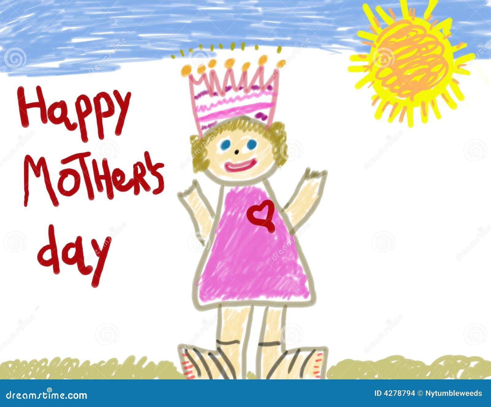 Giorno della madre felice del bambino