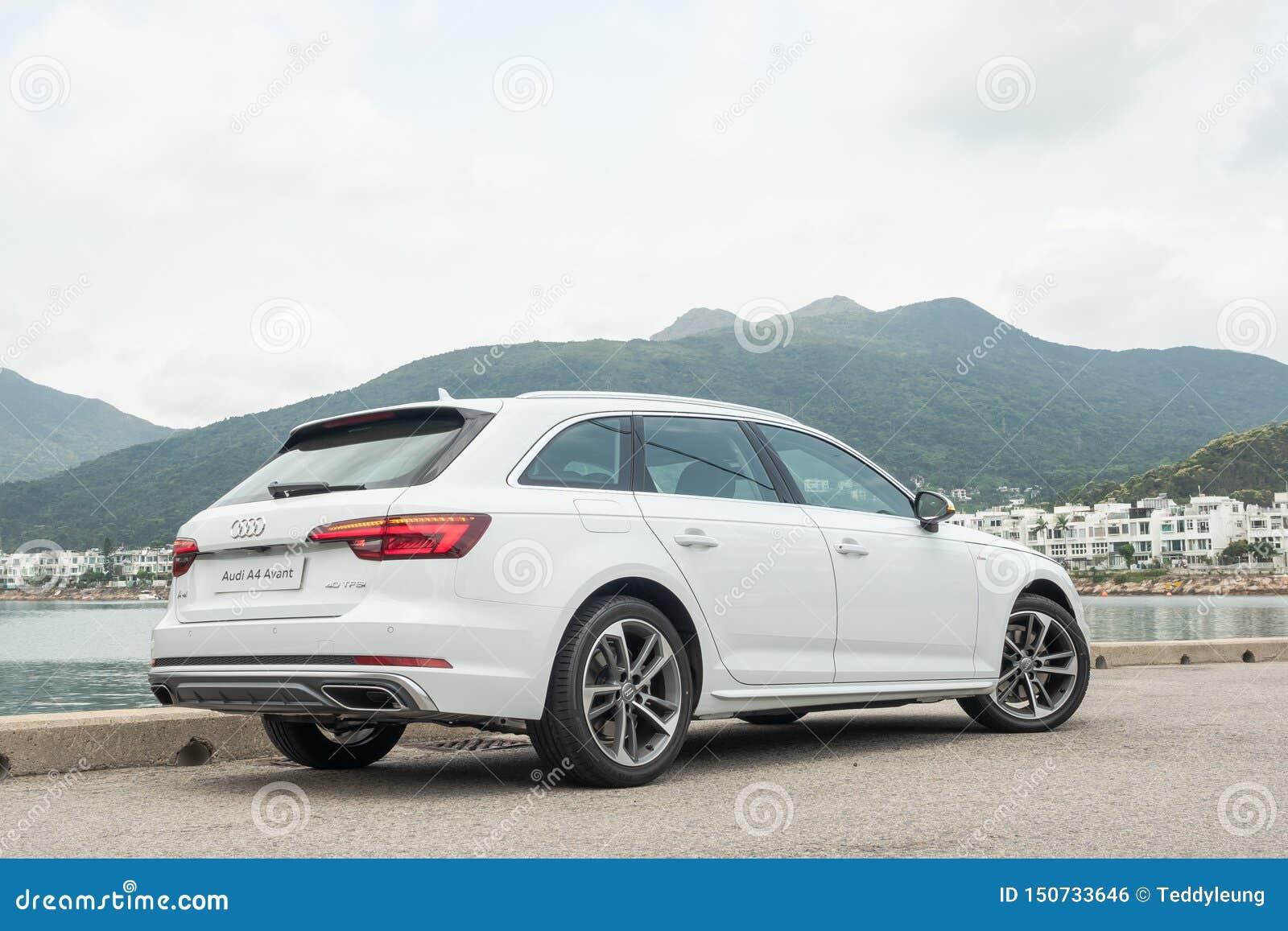 Giorno della prova su strada di Audi A4 Avant 40