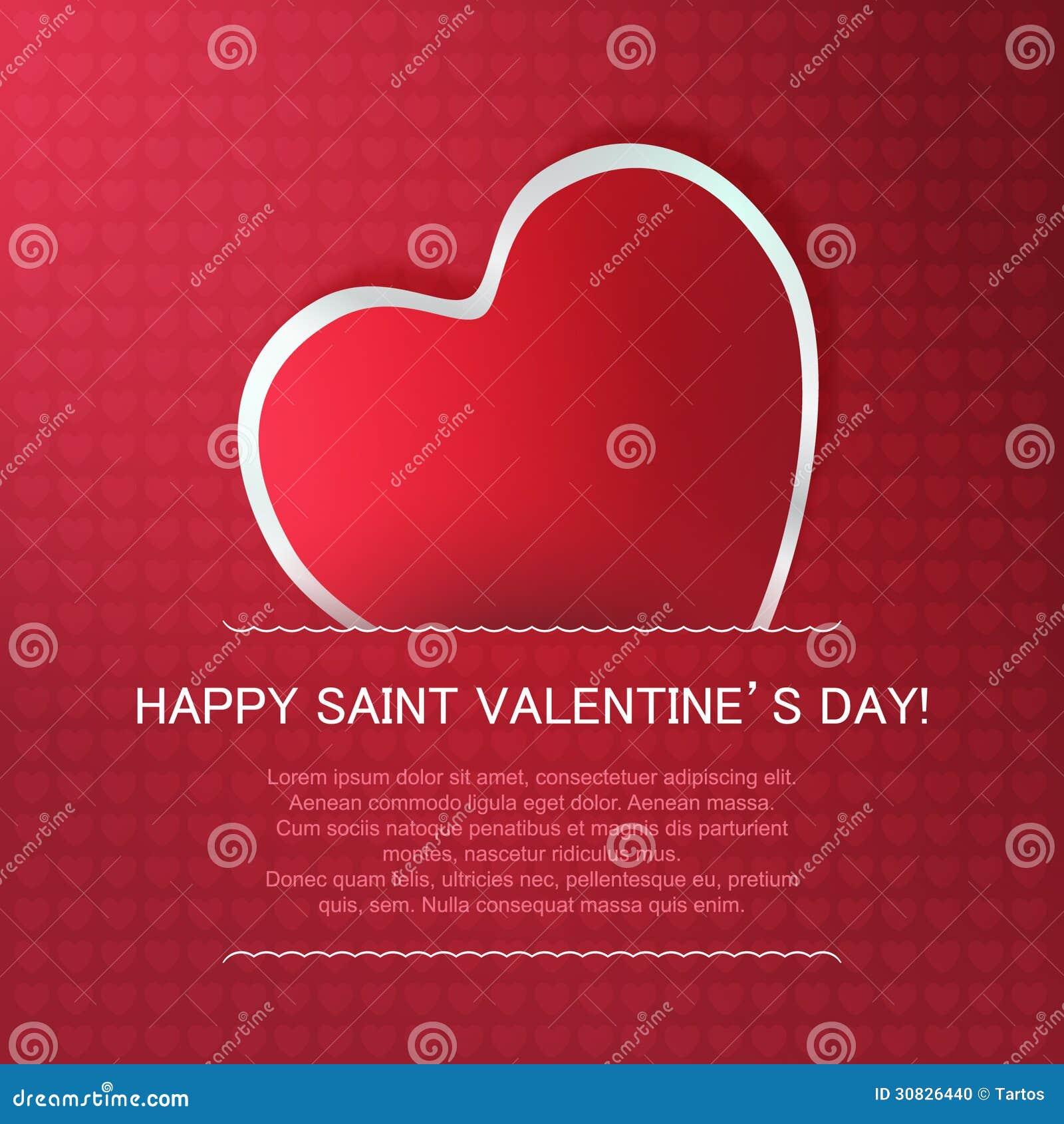 Giorno di biglietti di S. Valentino