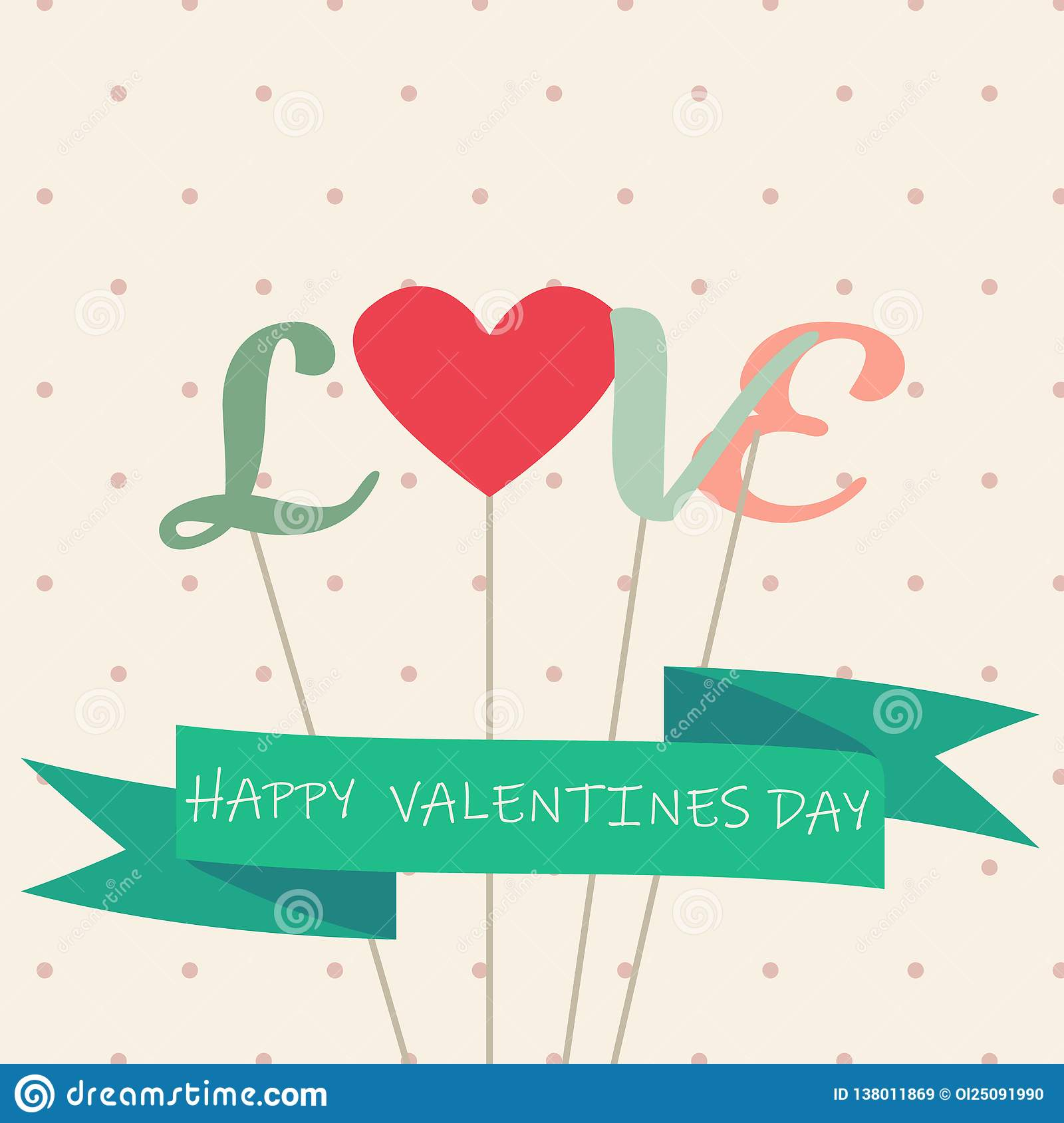 Giorno di biglietti di S. Valentino felice e carte di sarchiatura - vettore - vettore