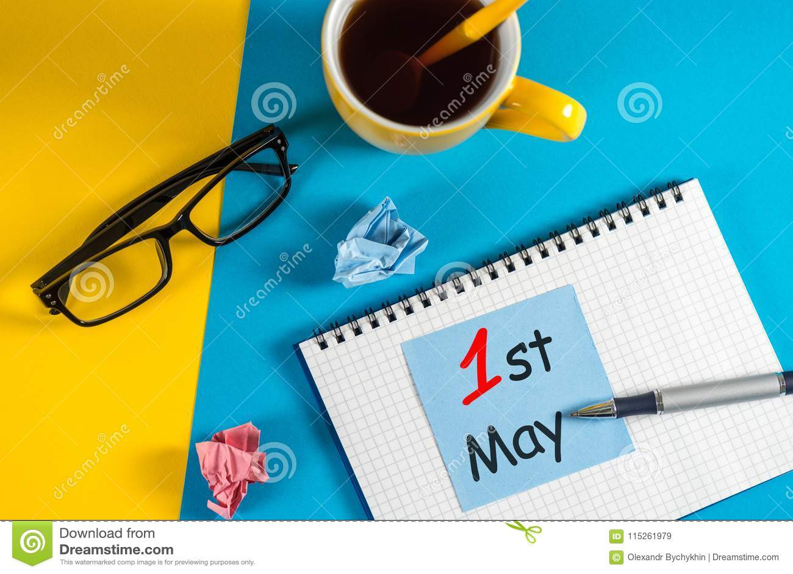 Calendario Internazionale.Giorno Di Lavoro Internazionale 1 Maggio Il Giorno 1 Di Puo