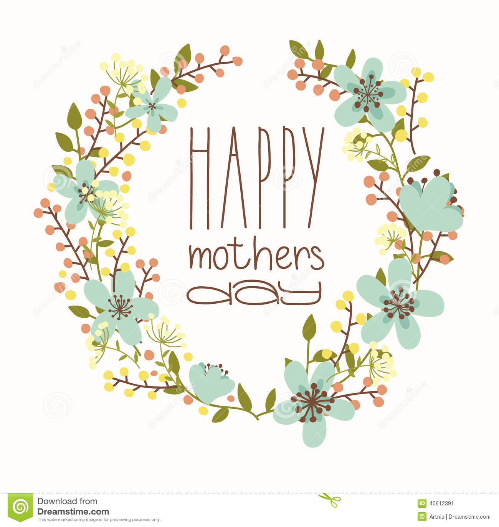 Giorno di madri felice