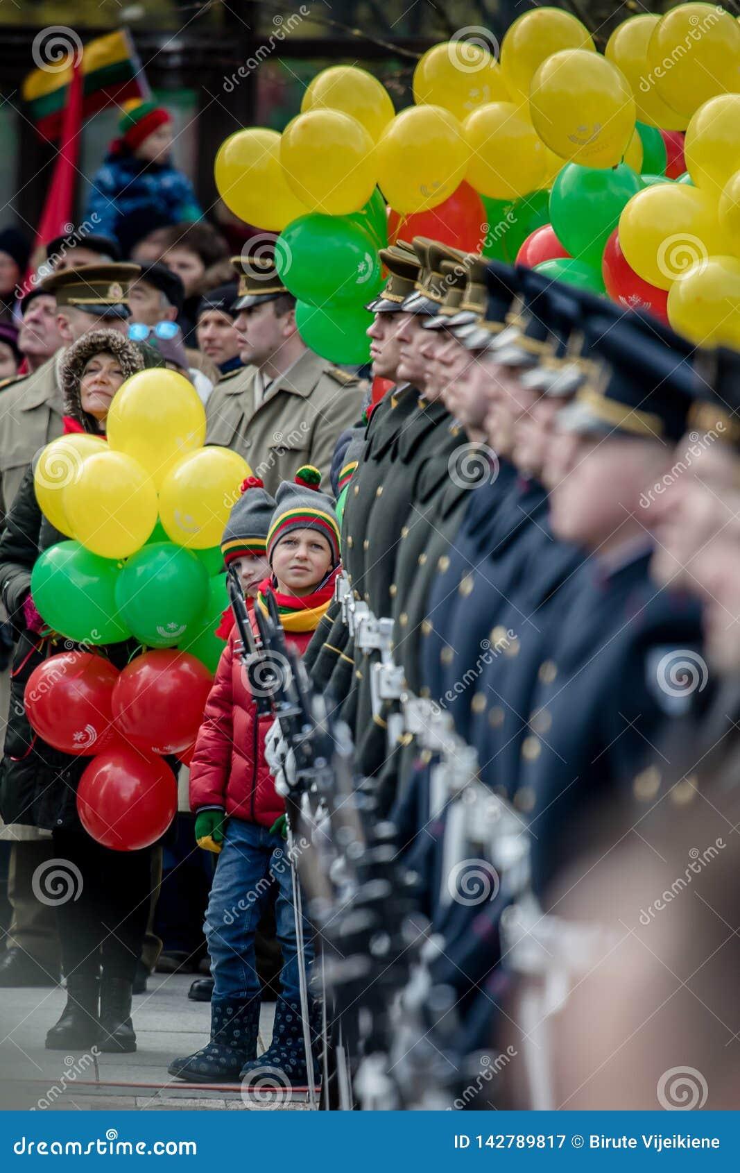 Giorno di ripristino di indipendenza della Lituania