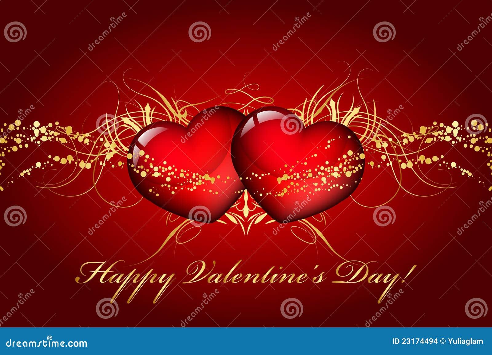 Giorno felice dei biglietti di S. Valentino