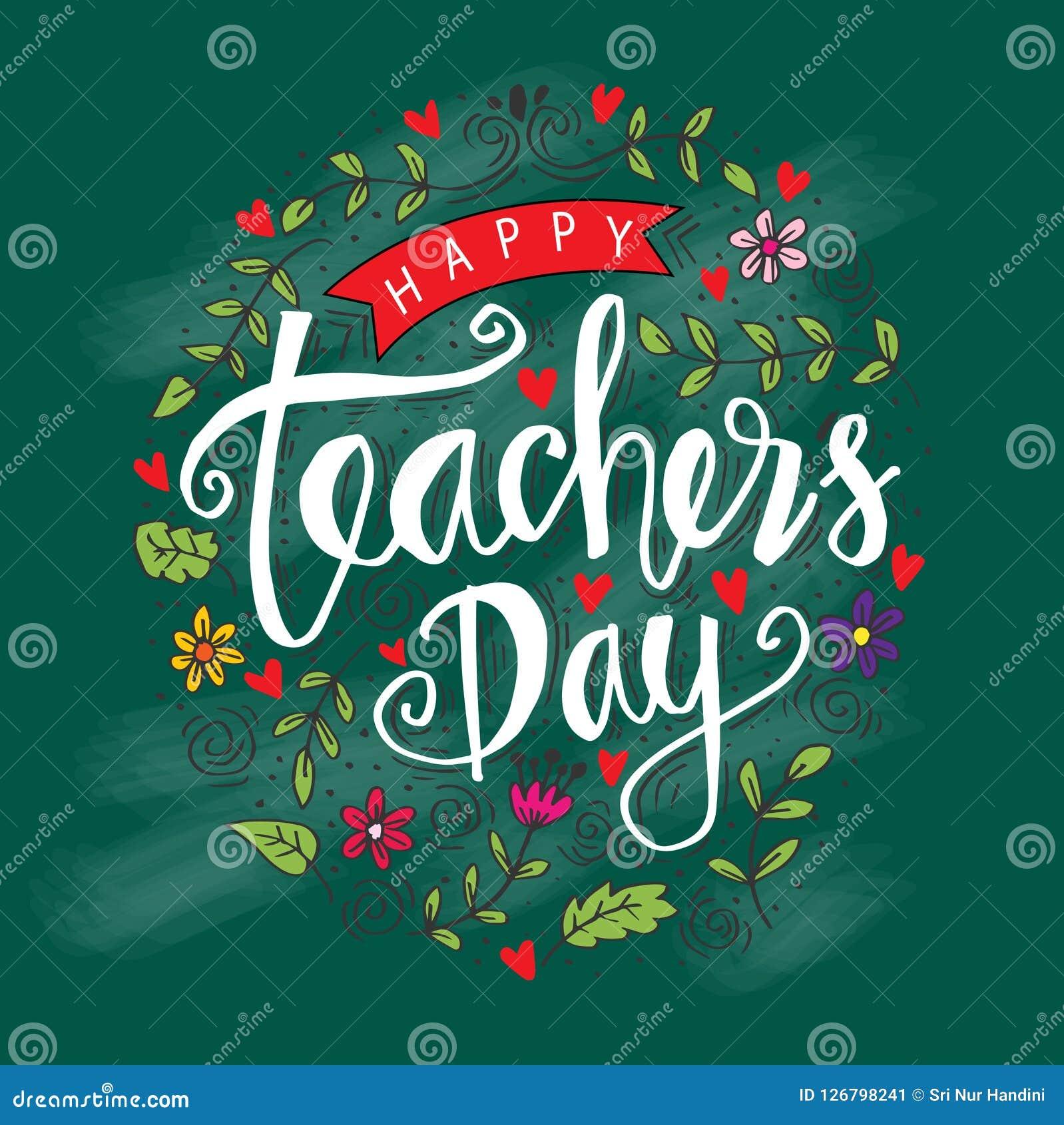 Giorno felice del ` s dell insegnante