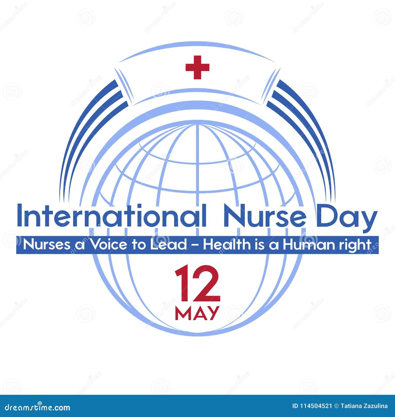 Giorno internazionale dell infermiere una cartolina, un manifesto o un insegna per la festa