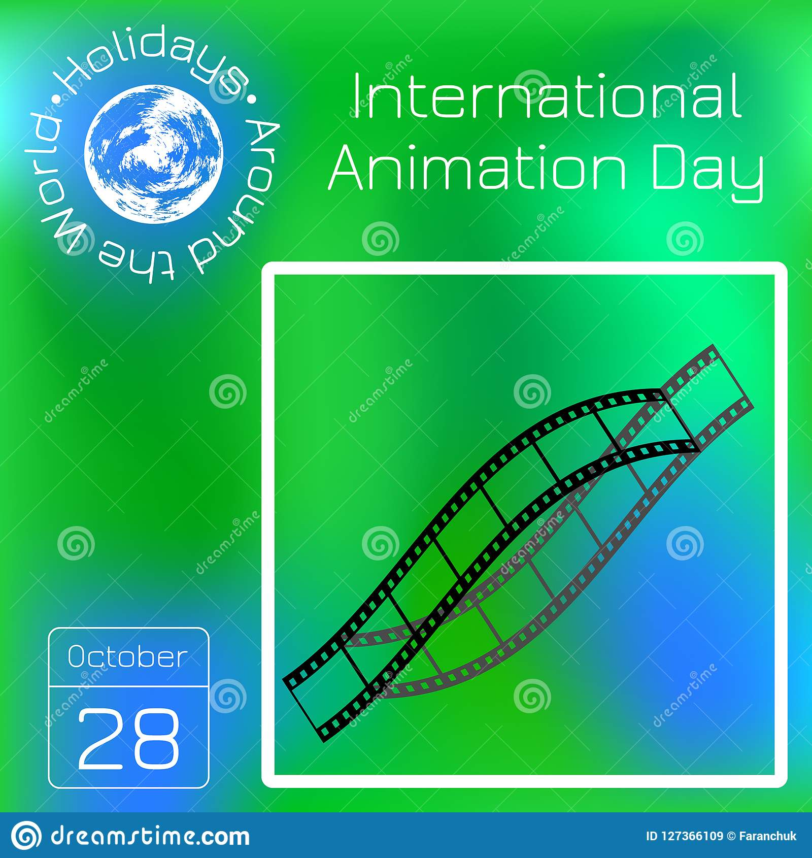 Calendario Internazionale.Giorno Internazionale Di Animazione Calendario Feste Intorno