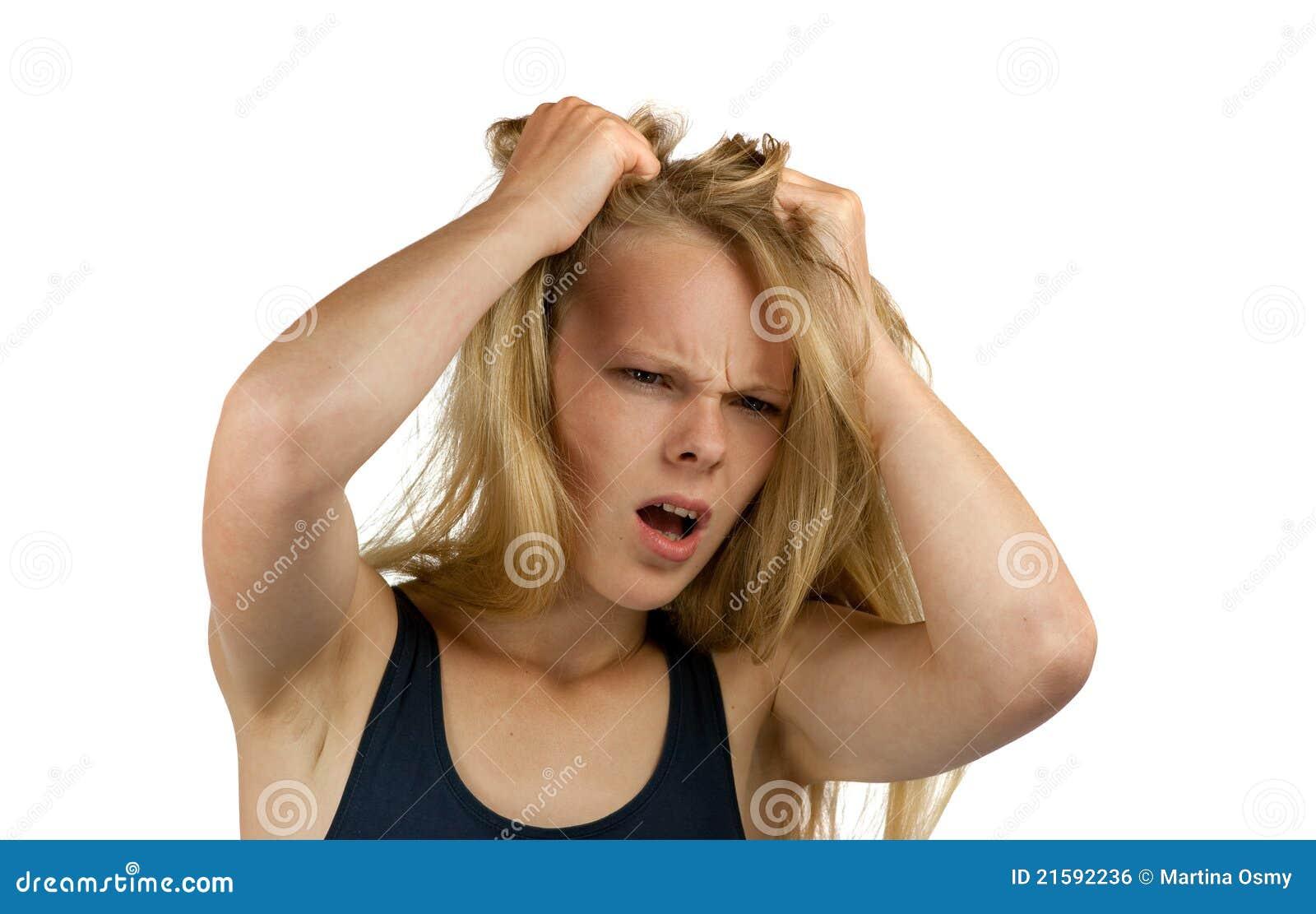 Perdita dei capelli aumentati