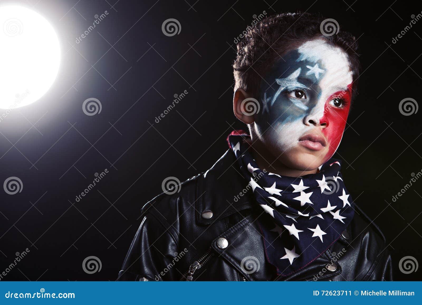 Giovane patriota americano