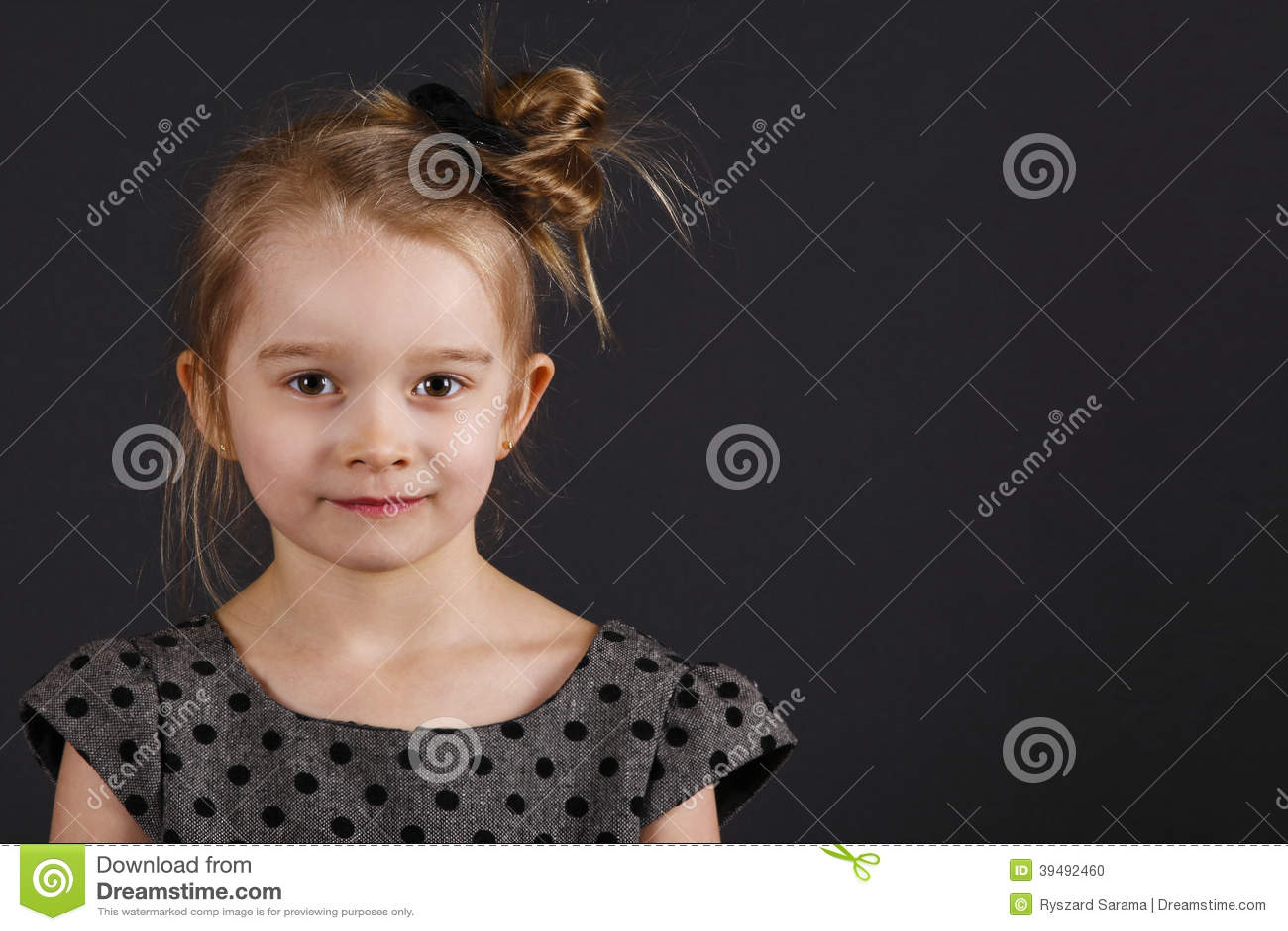 Giovane ragazza dolce