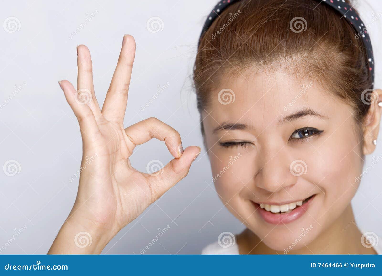 Giovani donne - espressione felice