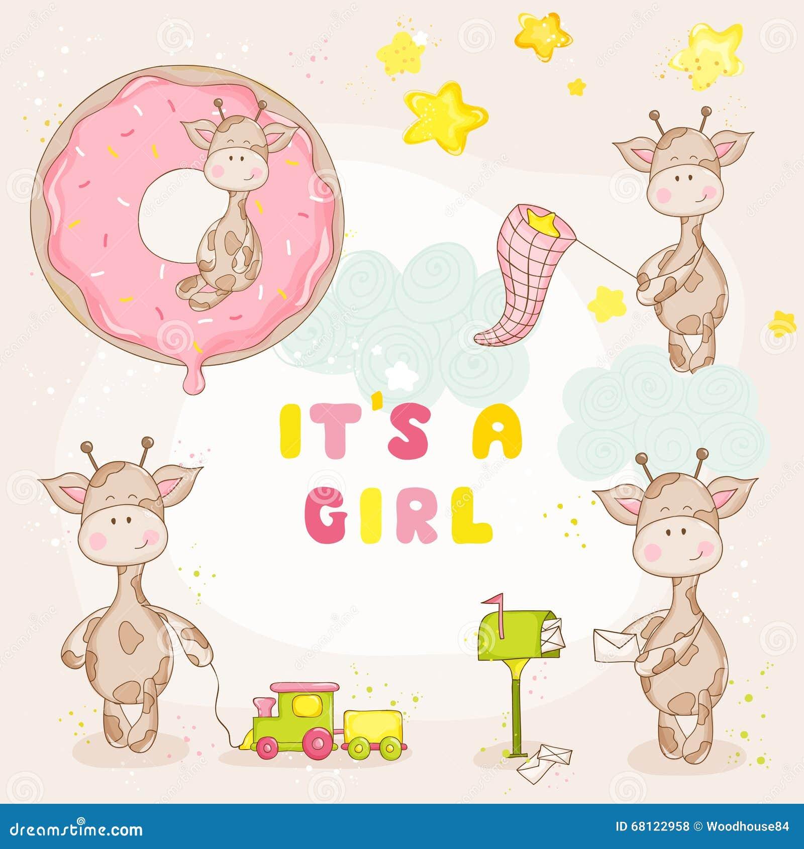 Giraffe κοριτσάκι σύνολο