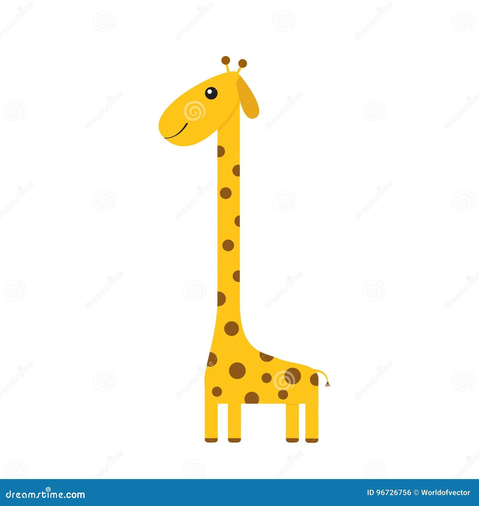Dessin Kawaii Animaux Girafe Dessin De Manga