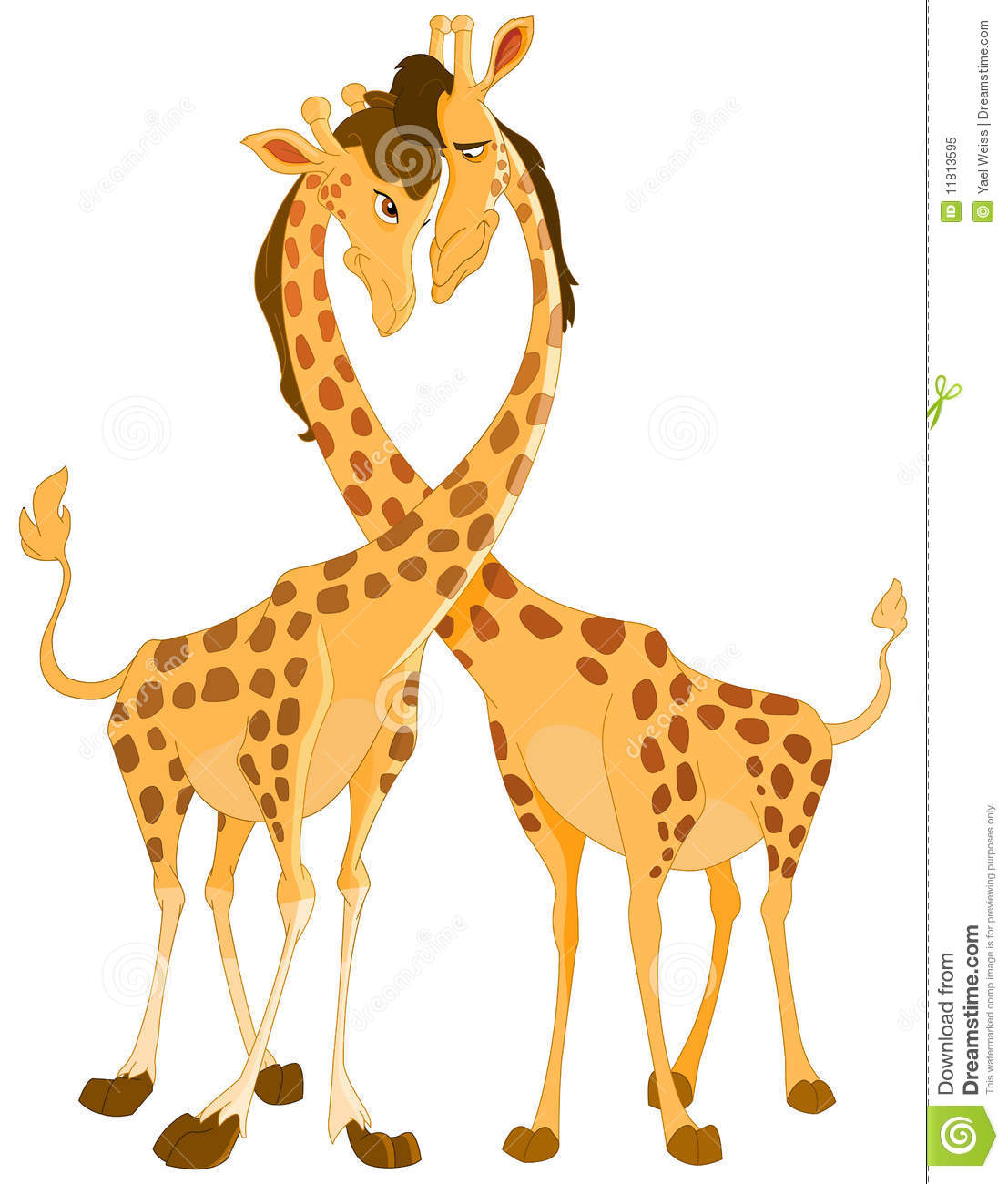 Giraffes In Love Giraffes In Love Royal...