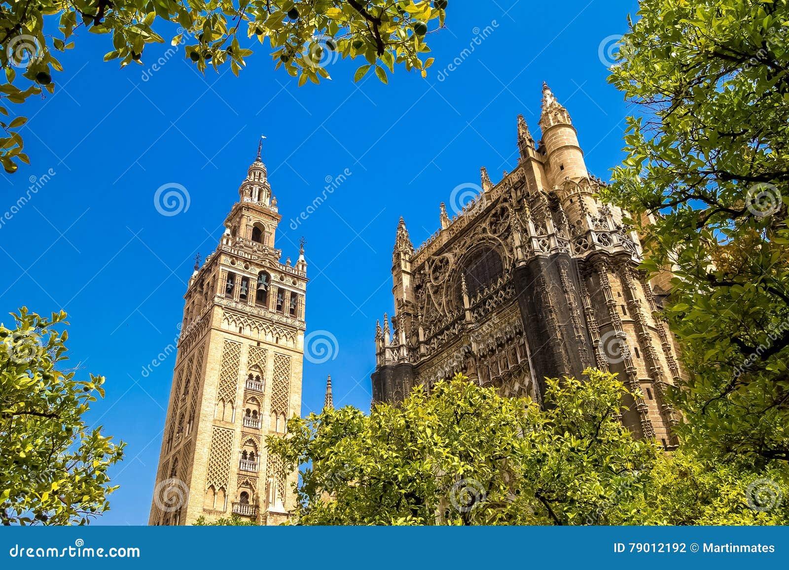 Giralda и крыша собора Севильи