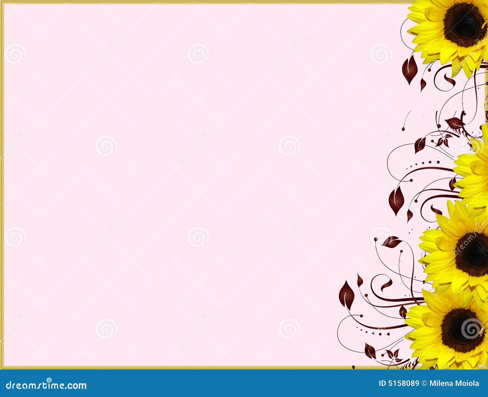 Girass 243 Is De Canto Florais Do Projeto Ilustra 231 227 O Stock