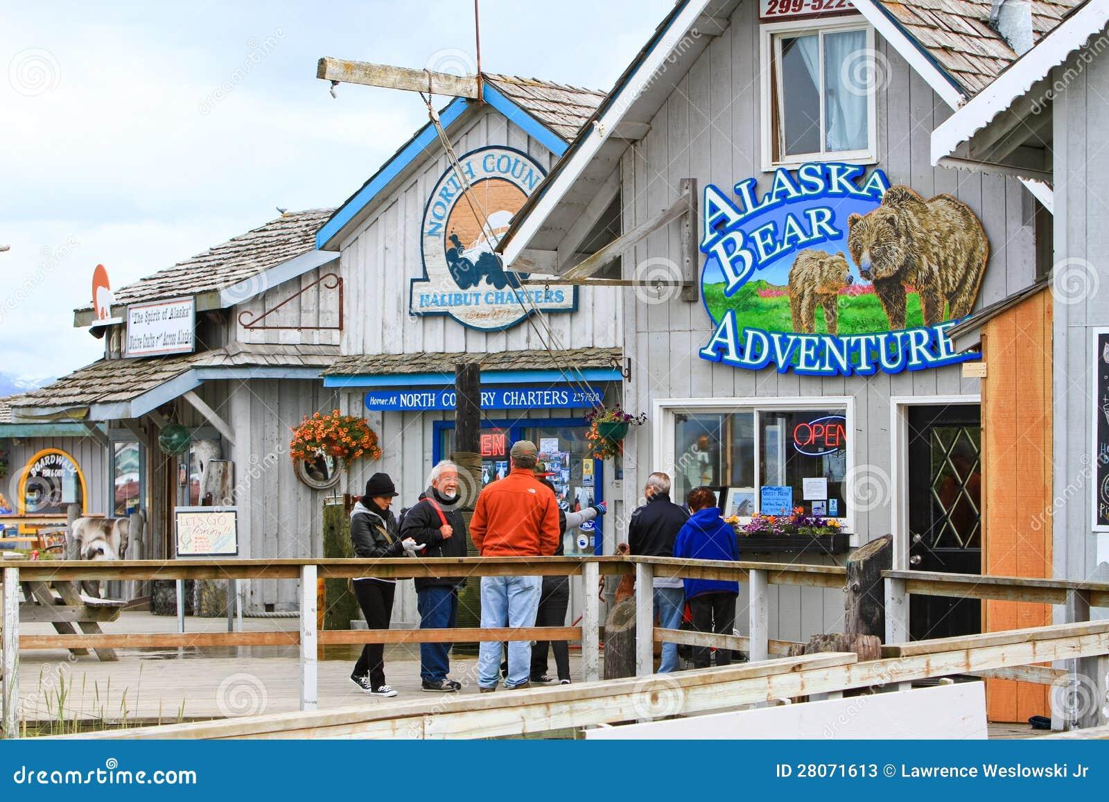 Giri di avventura dell orso di Omero - dell Alaska