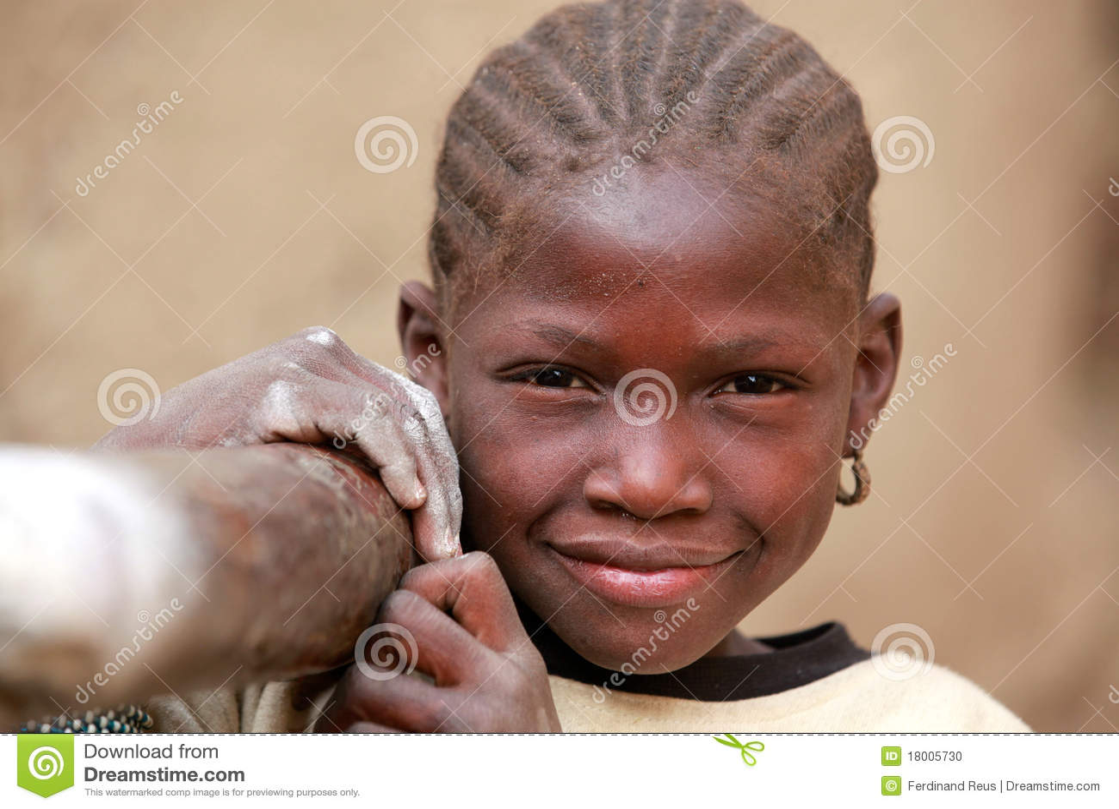 Girl in Africa