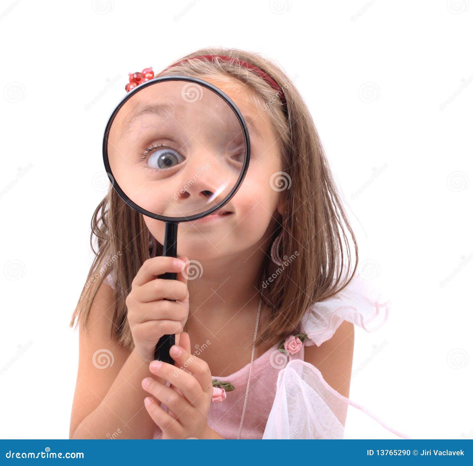 Girl as detective