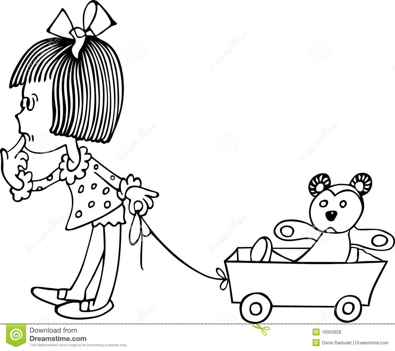 baby carriage coloring pages - photo #41
