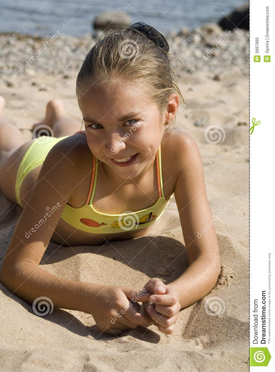 Royalty Free Young Brazilian Girl Beach Pictures, Images