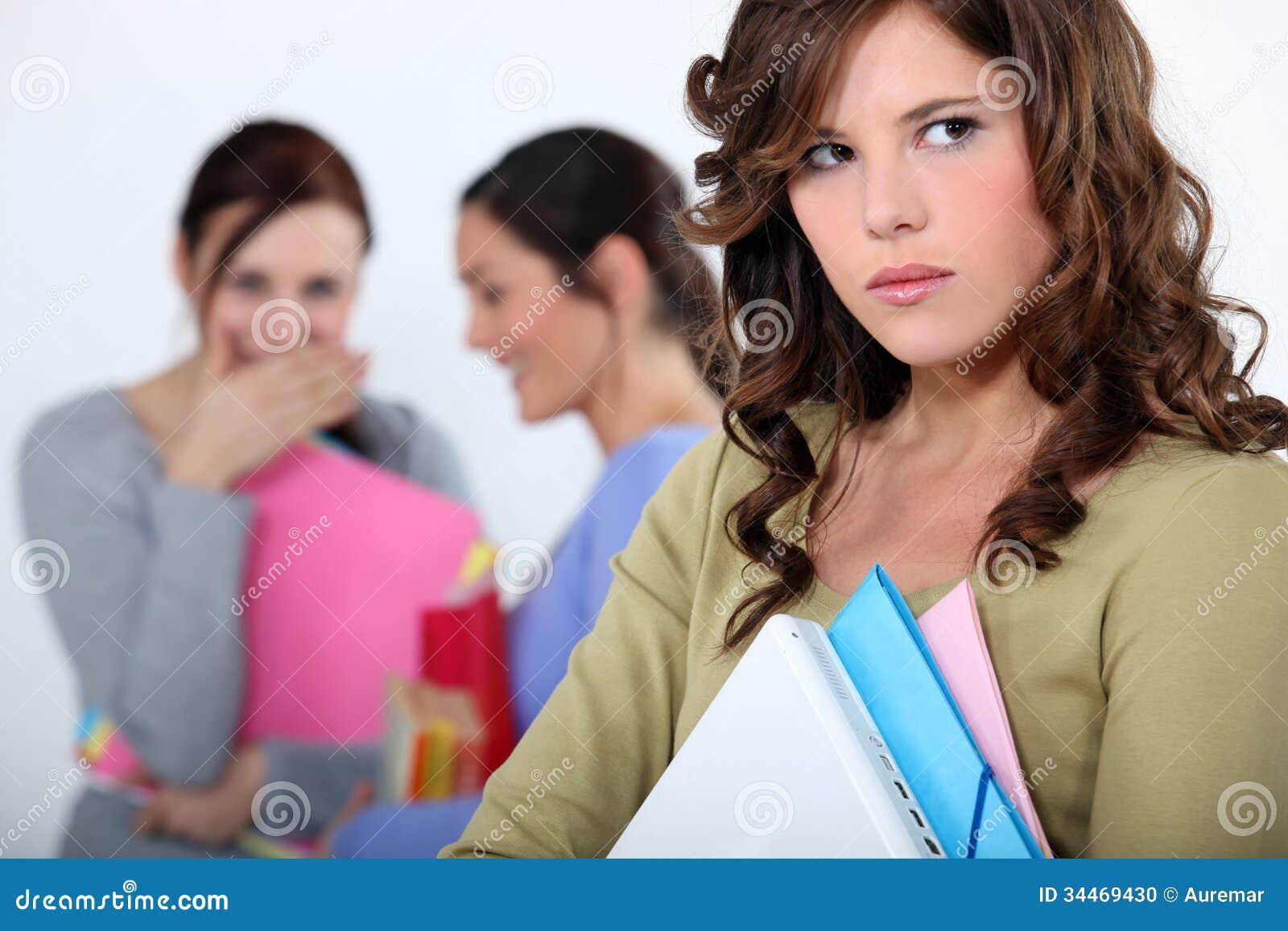 girl being mocked stock photo  image of gossip  people