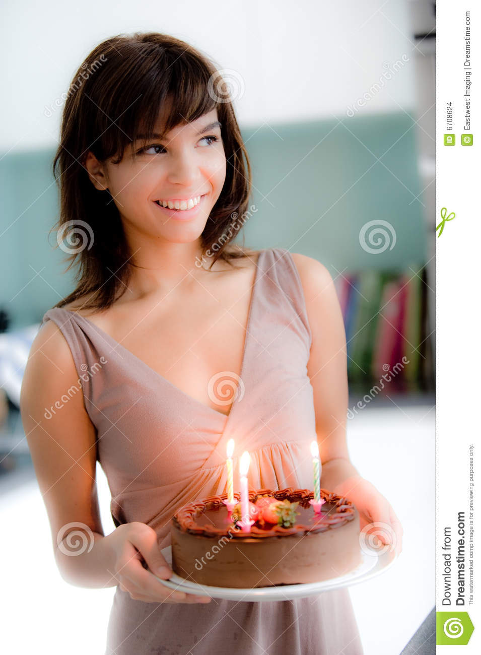 Images Of Girl Holding Cake Prezup for