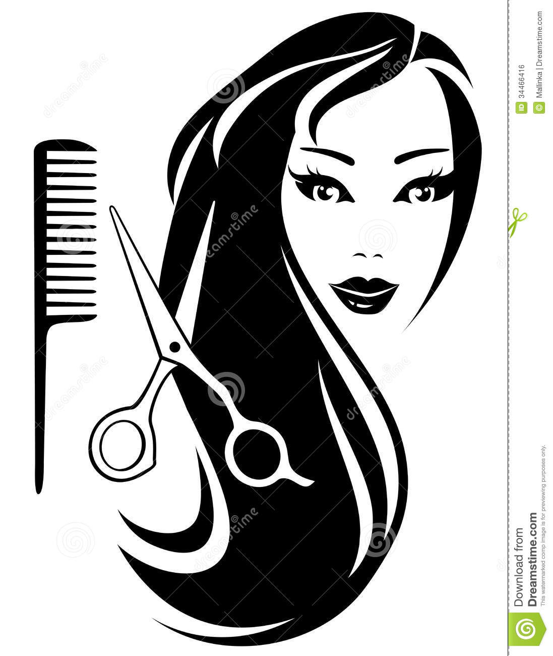 HD wallpapers hair scissors vector free