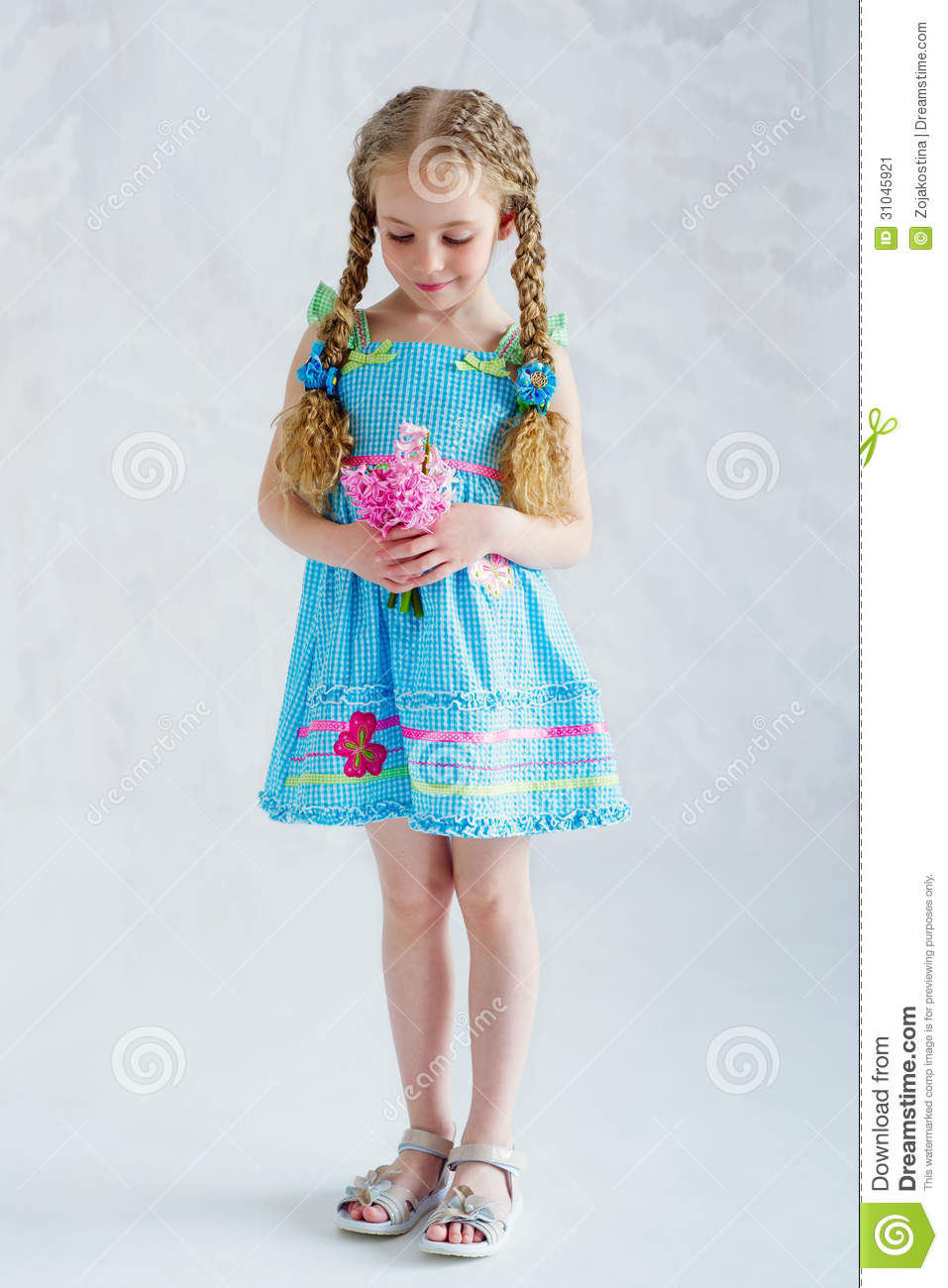 Images of Little Girl Summer Dresses - Reikian